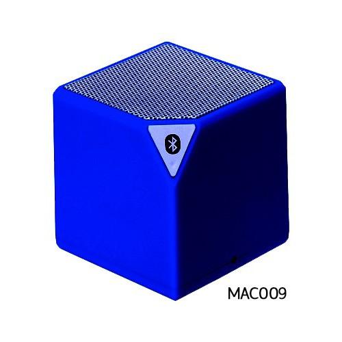 Enceinte MUSIC CUBE BLUETOOTH MIC Bleu