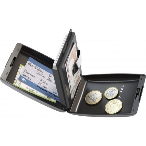 Porte monnaie et porte carte TRU VIRTU